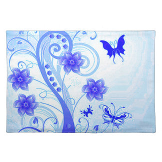 Butterfly Posies 2 Cloth Placemat