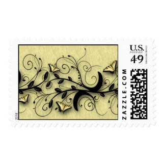 Butterfly Postage Stamps