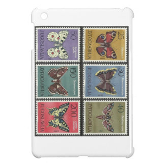 Butterfly Postage Stamps Cover For The iPad Mini