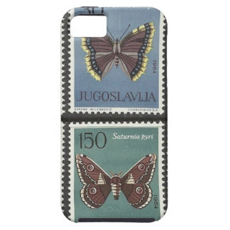 Butterfly Postage Stamps iPhone SE/5/5s Case