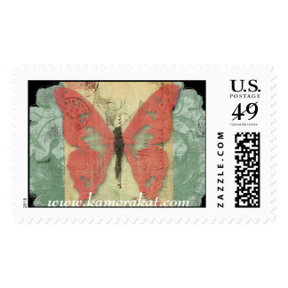 Butterfly Postale Stamp
