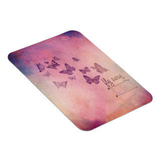 Butterfly Premium Flexi Magnet