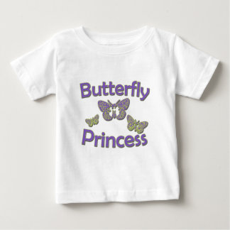 Butterfly Princess Baby T-Shirt