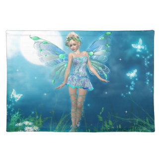 Butterfly Princess Cloth Placemat