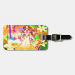 Butterfly Princess Luggage Tags