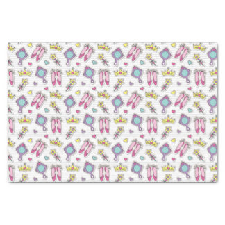 """butterfly princess pattern 10"""" x 15"""" tissue paper"""