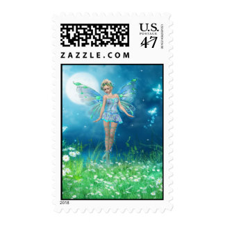 Butterfly Princess Postage