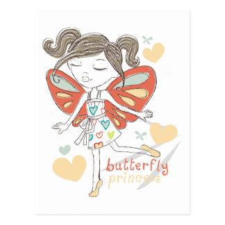 Butterfly Princess Postcards