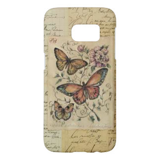 Butterfly Print Galaxy S7 Barely There Case
