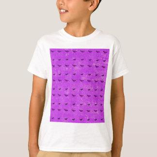 Butterfly print purple T-Shirt