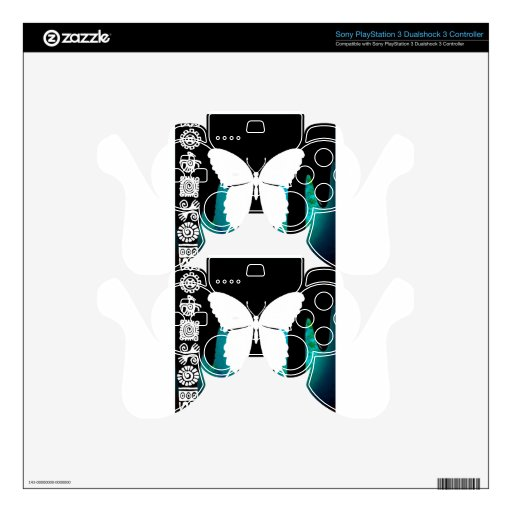 BUTTERFLY PRODUCTS SKIN FOR PS3 CONTROLLER