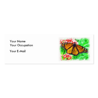 Butterfly Profile Card Business Cards