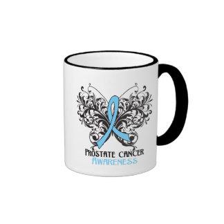 Butterfly Prostate Cancer Awareness Ringer Mug