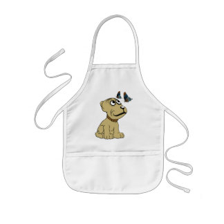Butterfly Puppy Apron