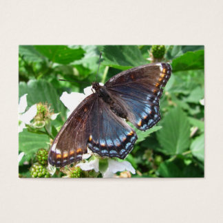 Butterfly Purple ~ ATC Business Card