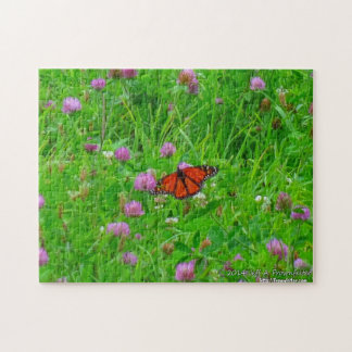 Butterfly Puzzle-Monarch in Flight