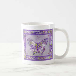 Butterfly Quilt Folk Art Mug