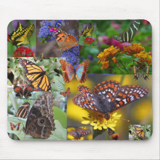 BUTTERFLY QUILT Mousepad