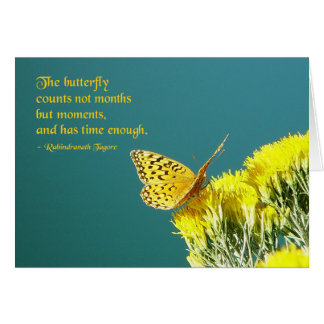 Butterfly Quote Card