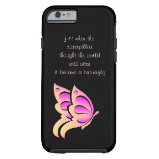 Butterfly Quote iPhone 6 case