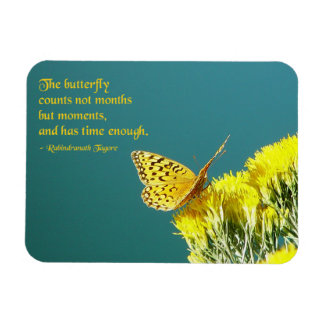 Butterfly Quote Magnet
