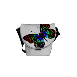 Butterfly (Rainbow01) Courier Bag