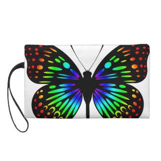 Butterfly (Rainbow01) Wristlet Purse