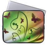 Butterfly Rainbows Laptop Sleeve