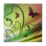 Butterfly Rainbows Tiles