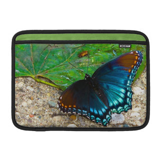 Butterfly Rests on Leaf MacBook Sleeve