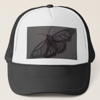 Butterfly Resurrection: Nature Hand drawn art Trucker Hat