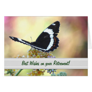 Butterfly Retirement Greeting Card
