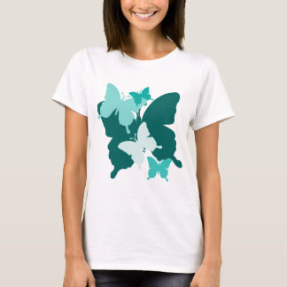 Butterfly Reunion - Designer Baby Doll T-Shirt