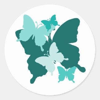 Butterfly Reunion - Designer Butterfly Sticker