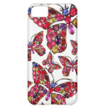 Butterfly Rhinestones Costume Jewelry Iphone Case iPhone 5C Cases