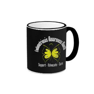 Butterfly Ribbon - Endometriosis Awareness Month Mug