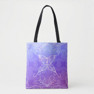 Butterfly Ribbon Tote