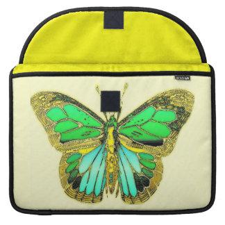 Butterfly Rickshaw Flap Sleeve MacBook Pro Sleeve