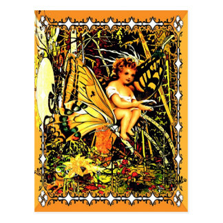 Butterfly Rides Postcard