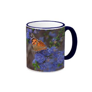 butterfly ringer ceramic mug