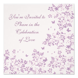 Butterfly Romance / Perfectly Plum Card
