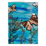 Butterfly Rose Card