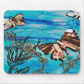 Butterfly Rose mousepad