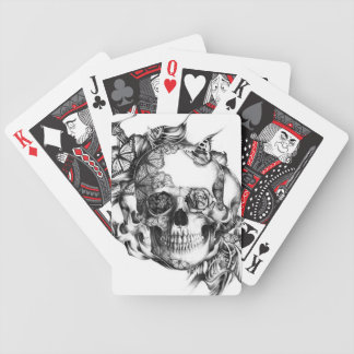 Skull Drawing Playing Cards, Skull Drawing Deck of Cards for Poker