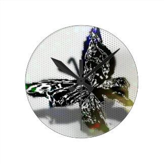 Butterfly Round Clocks