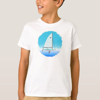 Butterfly Sailboat For Kids T-Shirt