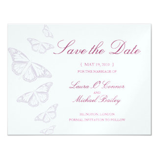 Butterfly  Save the Date Cards