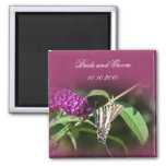 Butterfly Save-The-Date Fridge Magnets