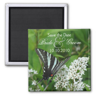 Butterfly Save-The-Date Magnet