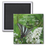 Butterfly Save-The-Date Refrigerator Magnets